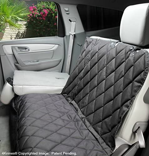 dog car seat cover with fold down seat